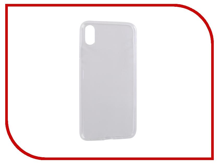 Аксессуар Чехол Pero для APPLE iPhone XS Max Transparent PRSLC-IXSMTR