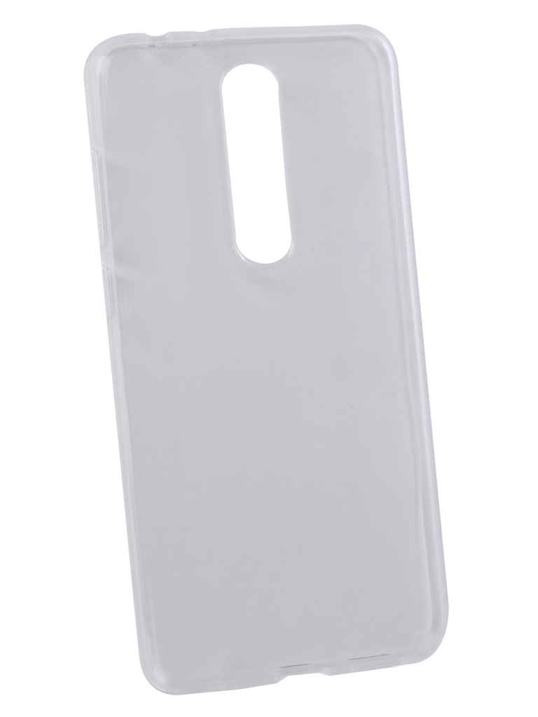 Аксессуар Чехол Pero для Nokia 5.1 Plus Transparent PRSLC-N51PTR цена и фото