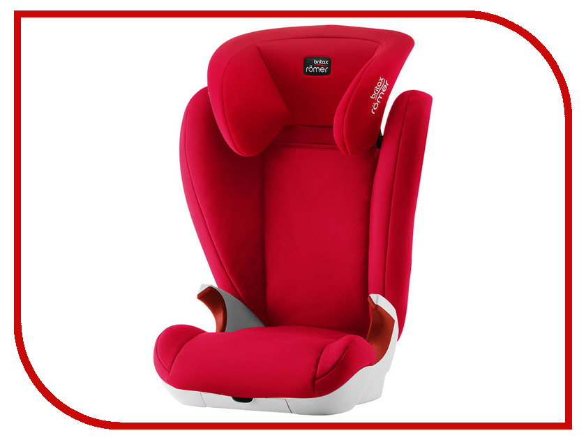 Автокресло Britax Romer Kid II Fire Red 2000030852 the big short
