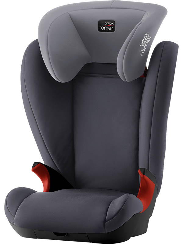 Автокресло Britax Romer Kid II Black Series Trendline Storm Grey 2000029681