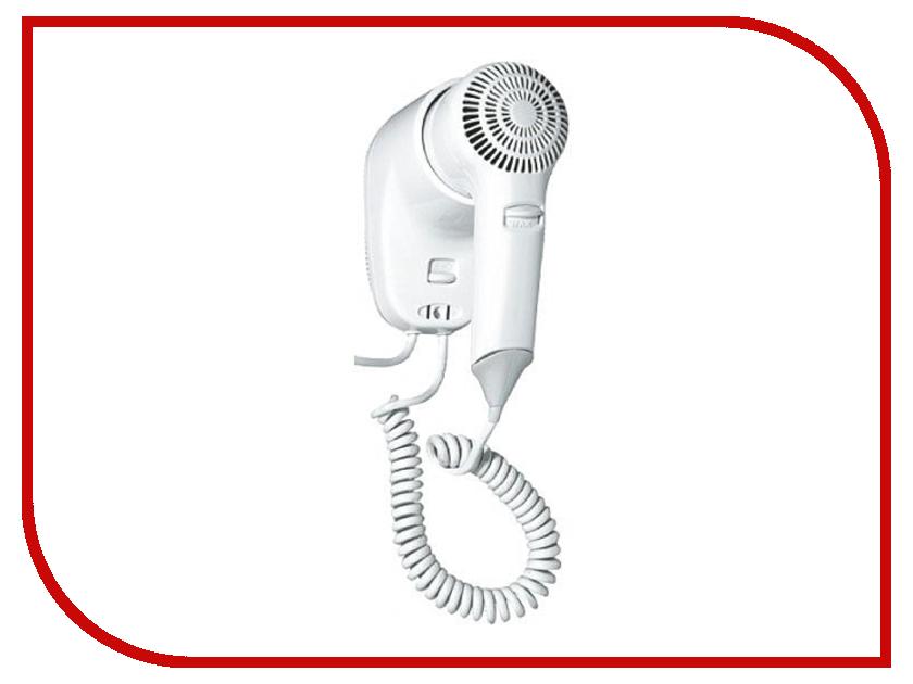 Фен настенный Nofer Hotel Line White 02055.W автоматическая сушилка для рук nofer kai 1500 w глянцевая 01251 b