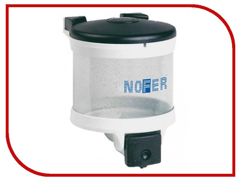 Дозатор Nofer Basic 2L для жидкого мыла 03019.W автоматическая сушилка для рук nofer fuga 800 w белая 01851 w