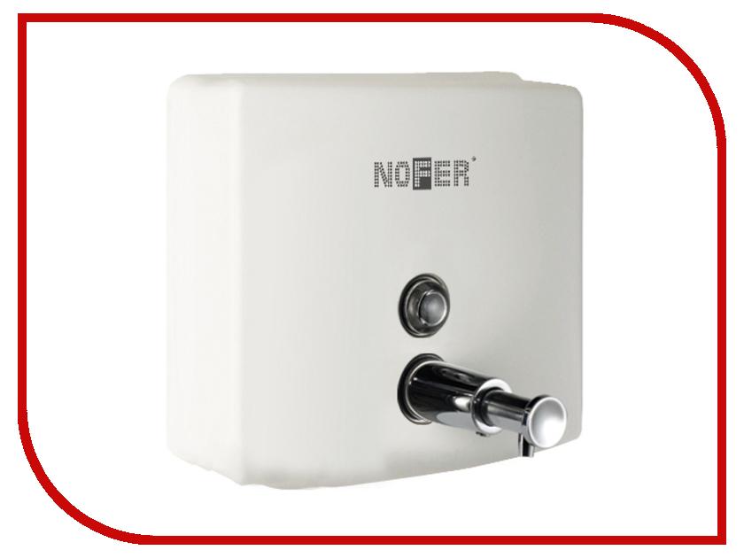 Дозатор Nofer Inox 1.2L для жидкого мыла White 03004.W автоматическая сушилка для рук nofer fuga 800 w белая 01851 w