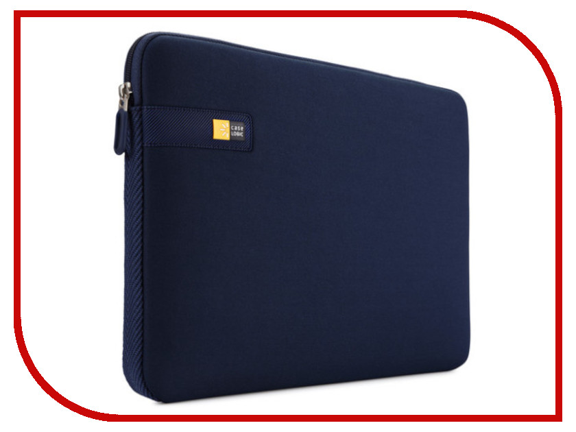 Аксессуар Чехол 13.3-inch Case Logic LAPS113DB Dark Blue аксессуар case logic dhs 101k black