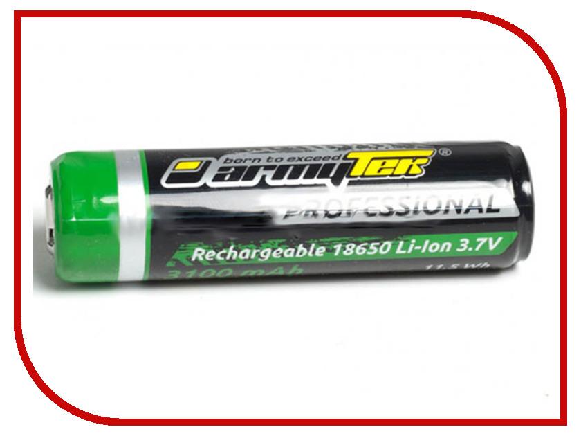 Аккумулятор ArmyTek 18650 Li-Ion 3200mAh (защищенный) аккумулятор 5000mah ultrafire 6pcs 3 7v 18650 li ion led icr18650