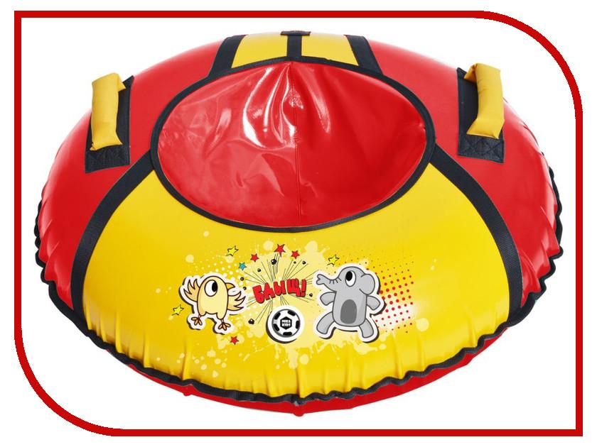 Тюбинг Nika ТБ1КР-85 Футбол Red-Yellow