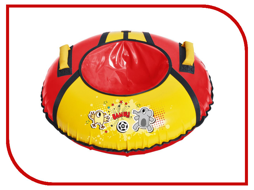 Тюбинг Nika ТБ1КР-95 Футбол Red-Yellow цены онлайн