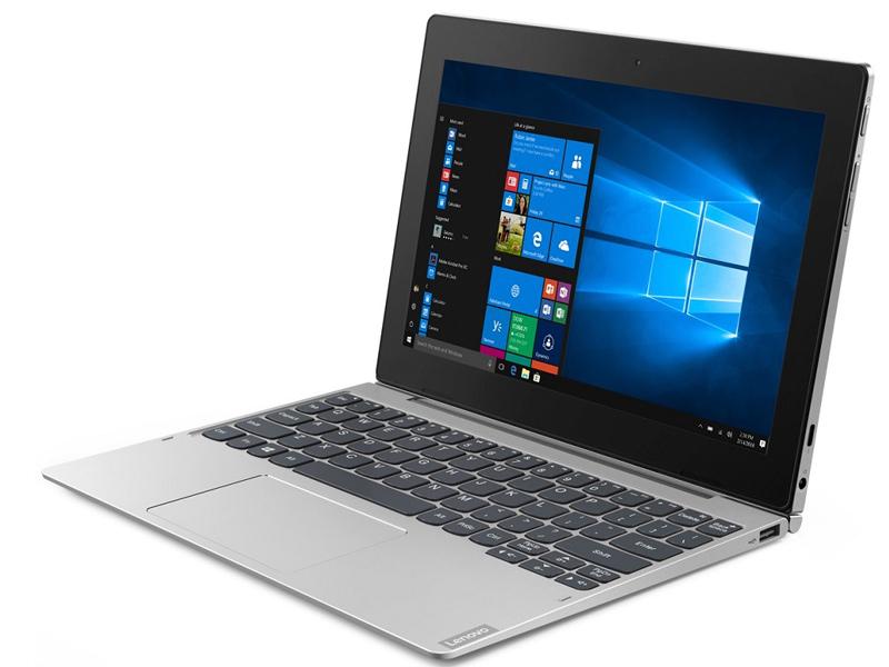 Планшет Lenovo IdeaPad D330-10IGM 81H3003ERU Silver (Intel Pentium N5000 1.1 GHz/4096Mb/64Gb/LTE/3G/Wi-Fi/Bluetooth/Cam/10.1/1920x1200/Windows 10 64-bit) планшет lenovo ideapad d330 10igm 10 1 32gb silver wi fi bluetooth windows 81h3003bru