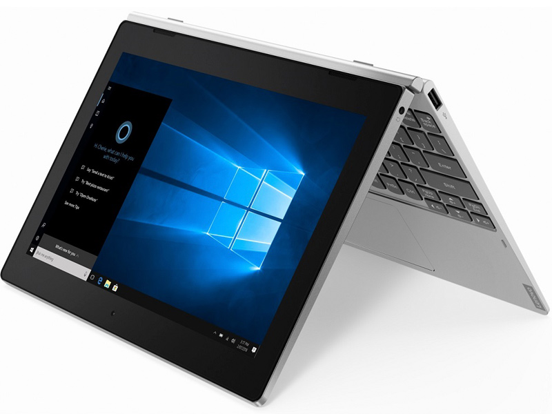 Планшет Lenovo IdeaPad D330-10IGM 81H3003KRU Silver (Intel Celeron N4000 1.1 GHz/4096Mb/64Gb/LTE/3G/Wi-Fi/Bluetooth/Cam/10.1/1280x800/Windows 10 64-bit) цена