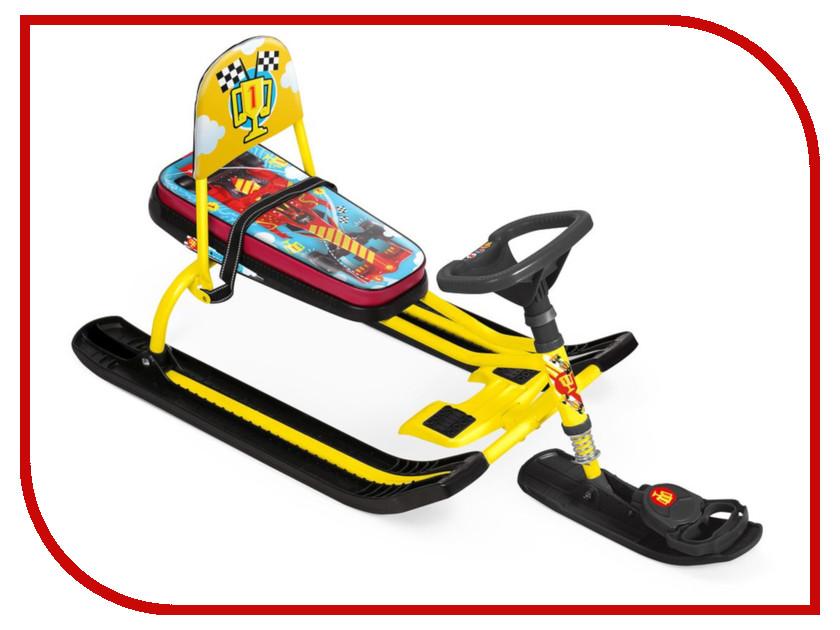 Снегокат Nika Тимка спорт 4-1 ТС4-1/F1 Kids F1 Yellow недорго, оригинальная цена