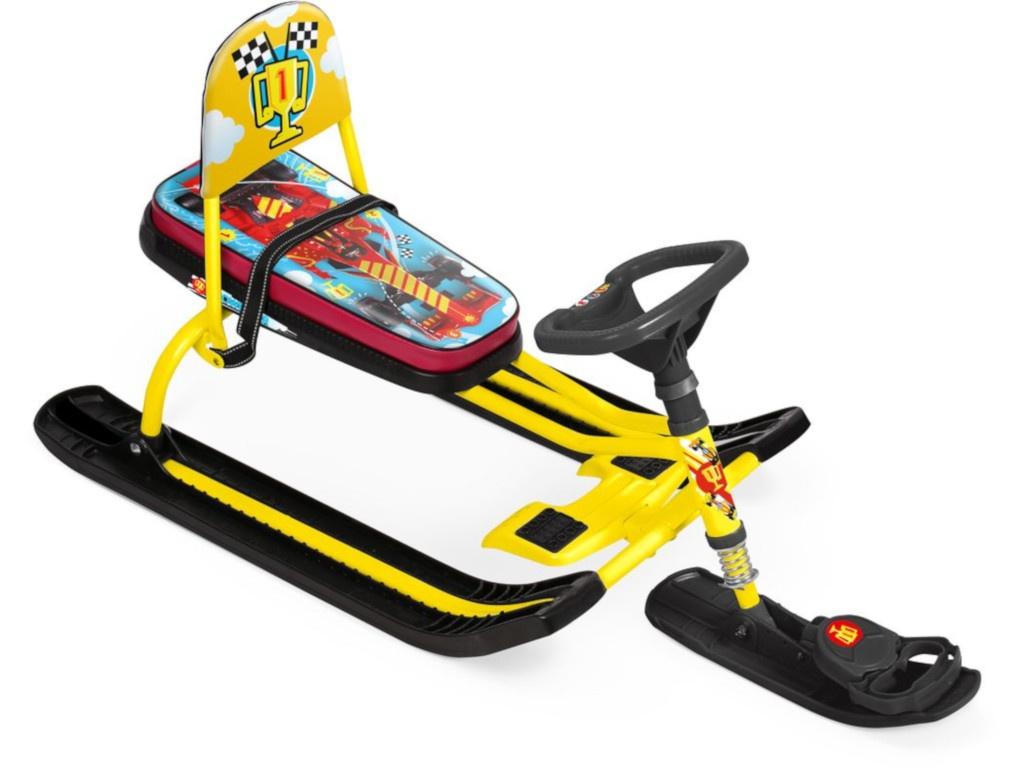 Снегокат Nika Тимка спорт 4-1 ТС4-1/F1 Kids F1 Yellow