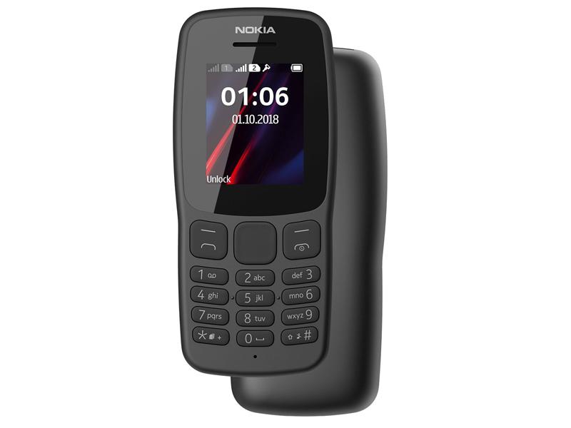 Сотовый телефон Nokia 106 (TA-1114) Dual Sim (2018) Grey сотовый телефон nokia 130 dual sim 2017 grey