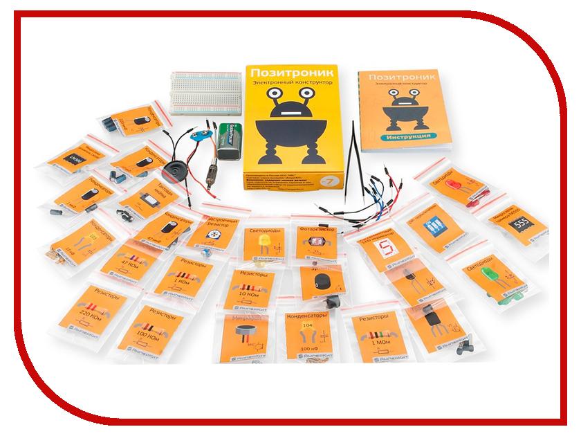 Конструктор Pinlab Позитроник образовательный набор смайл образовательный конструктор мастер arduino старт