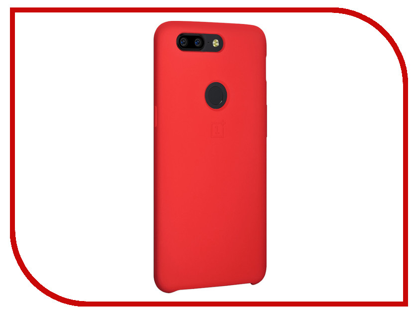 все цены на Аксессуар Чехол для OnePlus 5T Silicone Protective Case Red
