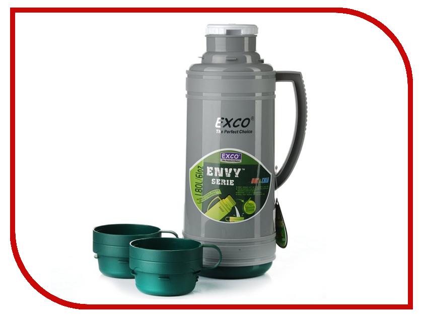 Термос EXCO EN180 1.8L Green термос exco en050 0 5l grey bordeaux