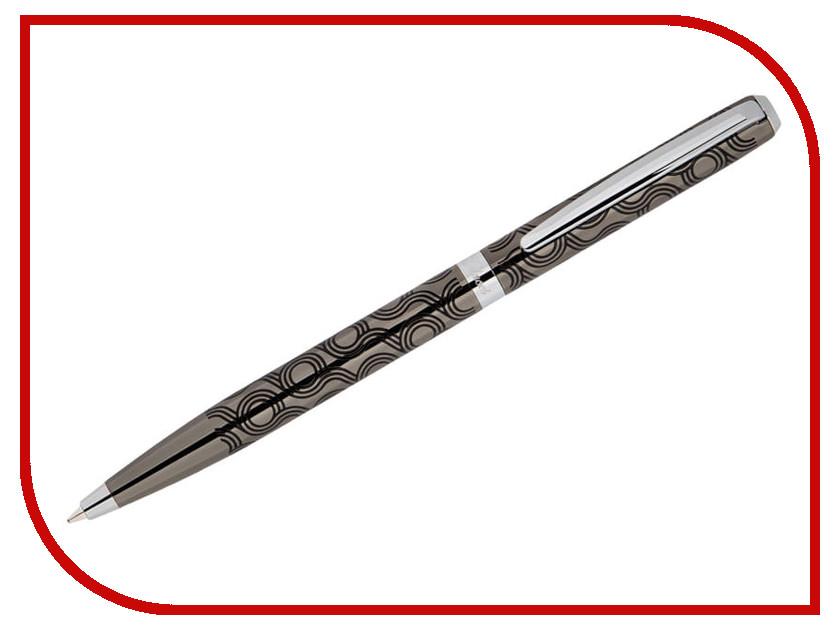 Ручка шариковая Delucci Motivo CPs_11400 Gun Metal-Silver delucci mbn 10201