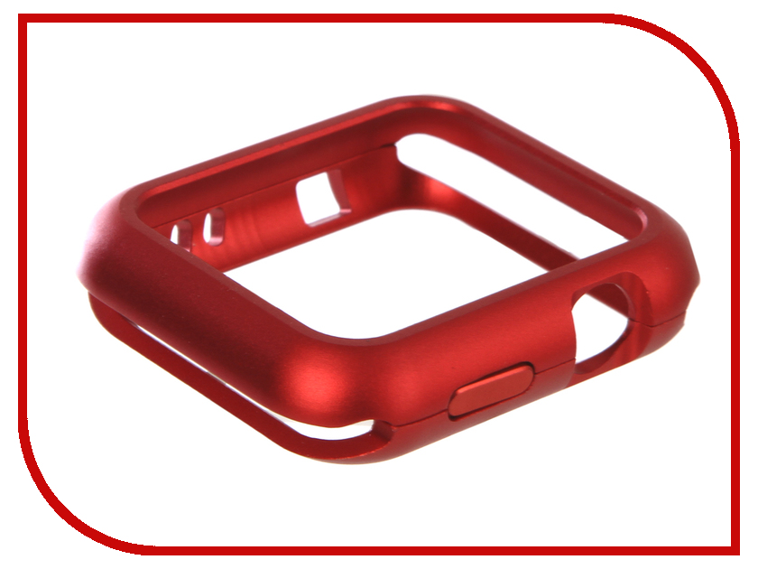 Аксессуар Чехол Activ Magnetic Bumper для APPLE Watch 42mm Red 90500 аксессуар чехол флип lenovo a7000 activ white 48113