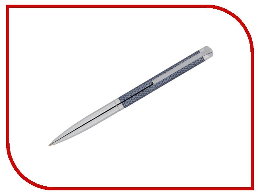 Ручка шариковая Delucci Volare CPs_11405 Silver-Grey Blue delucci mbn 10201