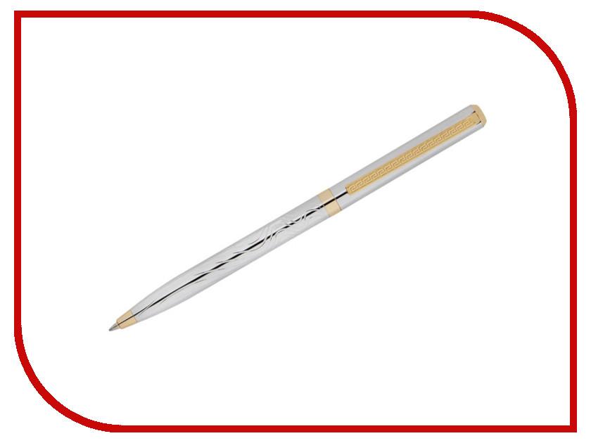 Ручка шариковая Delucci Tempo CPs_11415 Silver-Gold delucci mbn 10201