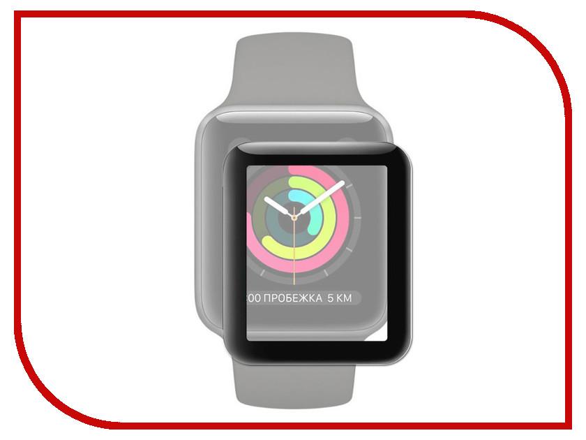 Аксессуар Защитное стекло Activ Full Screen ActivClean Line 3D для APPLE Watch 44mm Black 91001 аксессуар защитное стекло gurdini 3d full screen для apple watch 38mm 903119