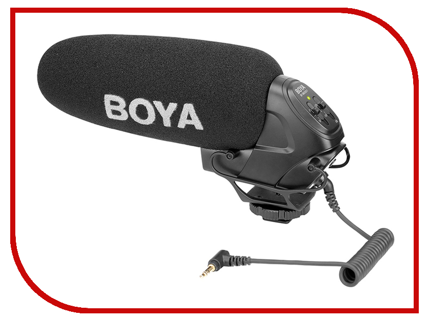 Микрофон Boya BY-BM3031 boya by wm5 by wm6 camera wireless lavalier microphone recorder system for canon 6d 600d 5d2 5d3 nikon d800 sony dv camcorder