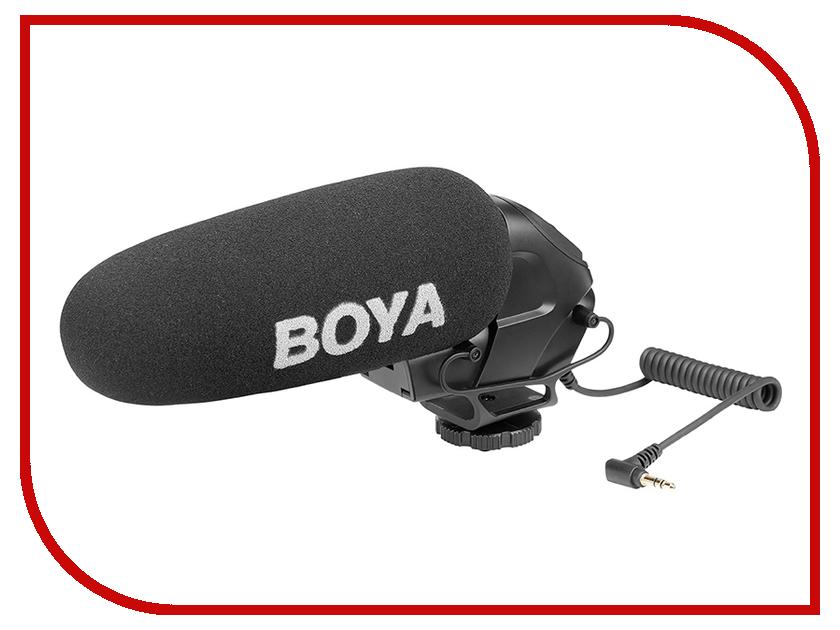 Микрофон Boya BY-BM3030 boya by wm6 ultra high frequency uhf wireless lavalier microphone system for canon nikon sony dslr camera audio recorder
