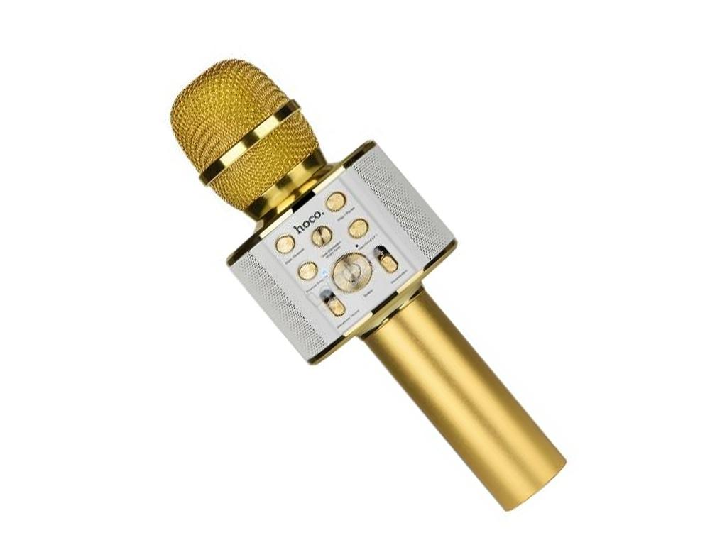Караоке Hoco BK3 Gold