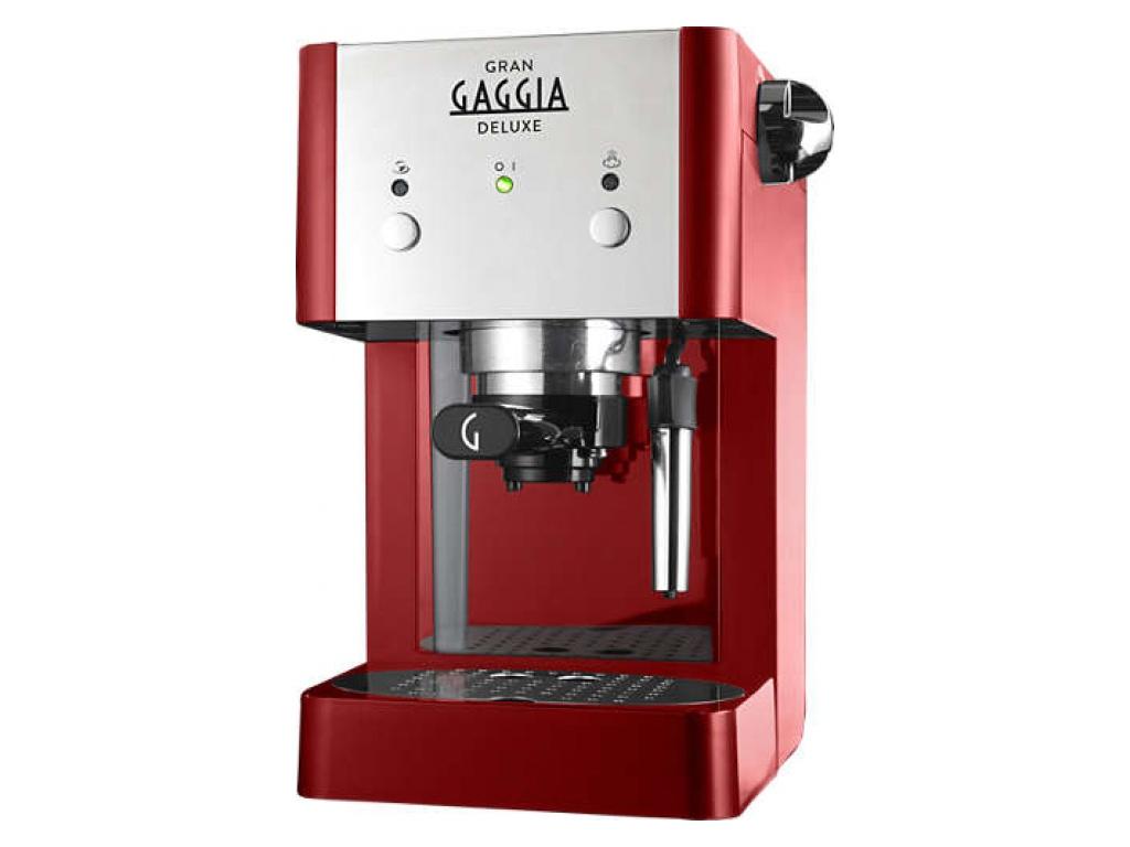 Кофемашина Gaggia Gran De Luxe Red
