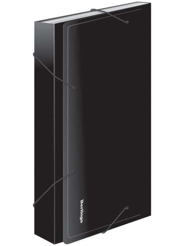 Папка Berlingo Standard A4 Black 330x245x30mm Anp_04111 цена и фото