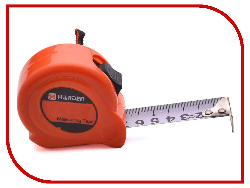 Рулетка Harden 10m 580010 молоток harden 590449