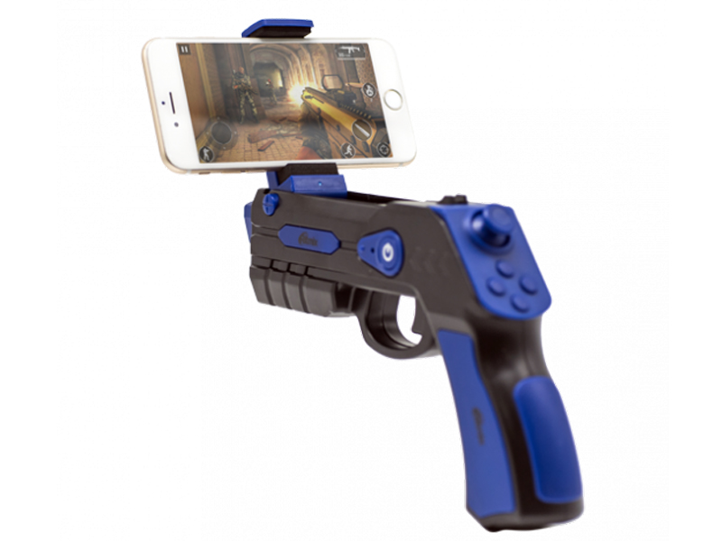 Игровой пистолет Ritmix GP-056BTH Black-Blue