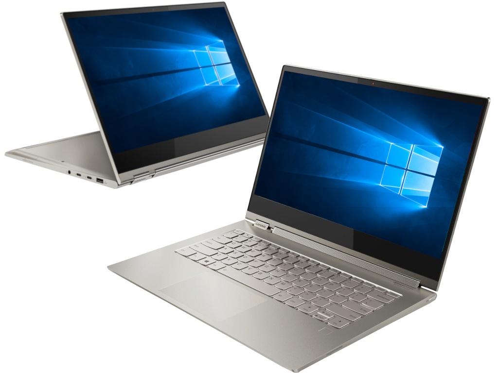 купить Ноутбук Lenovo Yoga C930 81C40024RU Mica (Intel Core i5-8250U 1.6 GHz/8192Mb/256Gb SSD/No ODD/Intel HD Graphics/Wi-Fi/Bluetooth/Cam/13.9/1920x1080/Touchscreen/Windows 10 64-bit) по цене 84310 рублей