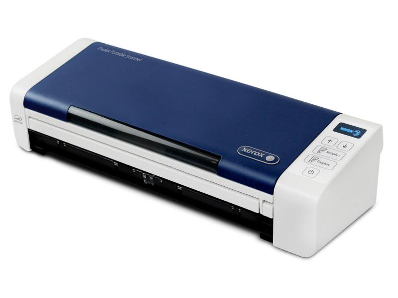 Zakazat.ru: Сканер Xerox Duplex Portable Scanner White-Blue