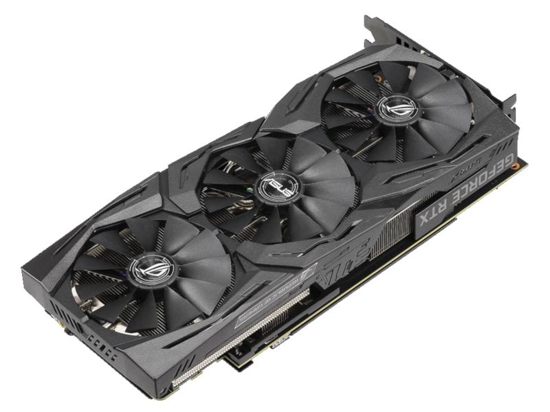 Видеокарта ASUS GeForce RTX 2070 1410Mhz PCI-E 3.0 8192Mb 14000Mhz 256 bit USB-C 2xDP 2xHDMI HDCP ROG-STRIX-RTX2070-O8G-GAMING