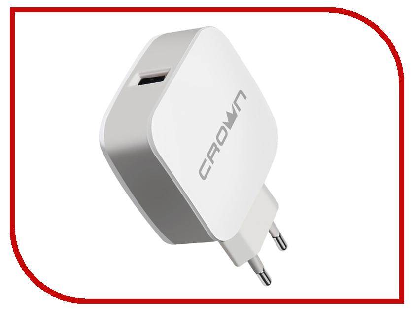 Зарядное устройство Crown CMWC-3011 White-Grey