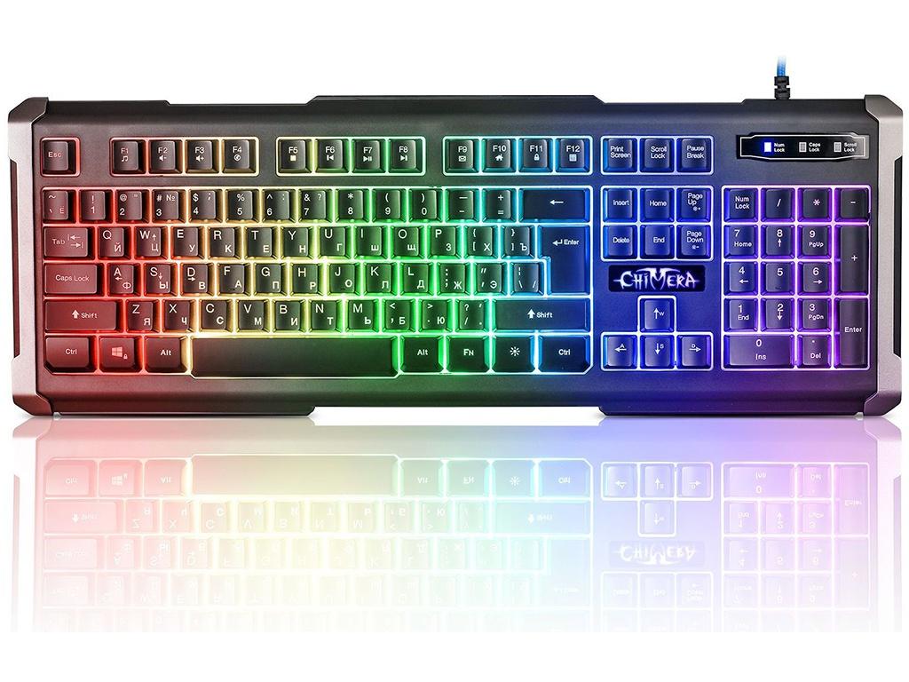 Клавиатура Defender Chimera GK-280DL Black lacywear gk 30 zem