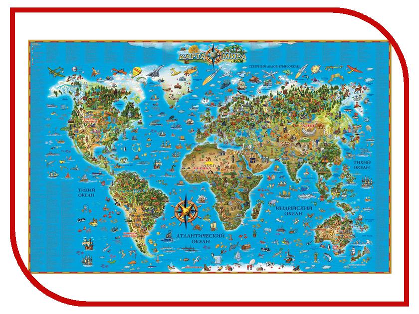 Карта мира DMB 1160x790mm ОСН1223996