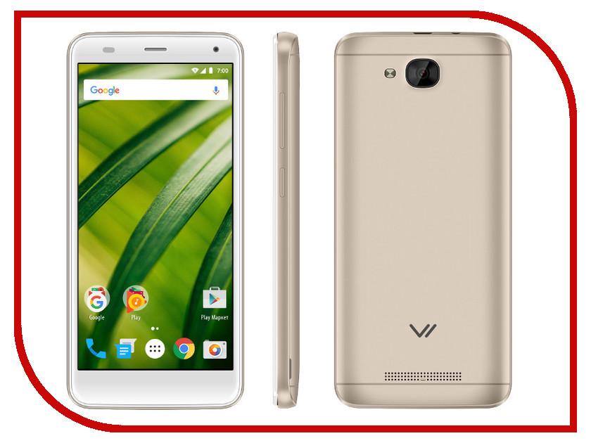 Сотовый телефон VERTEX Impress Forest Gold сотовый телефон vertex impress sun lte black