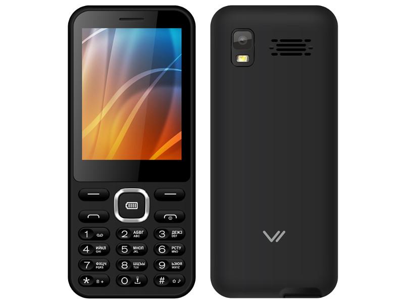 Сотовый телефон VERTEX D525 Black мобильный телефон vertex d525 black