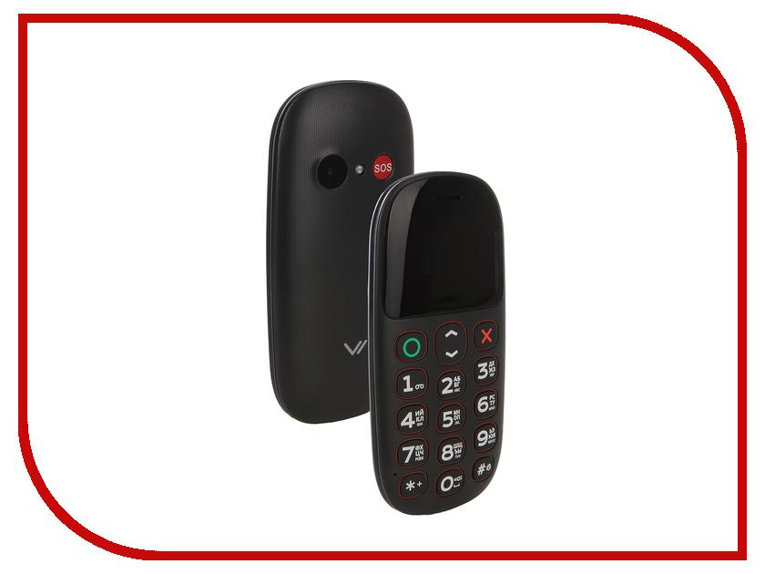 Сотовый телефон Vertex C322 Black сотовый телефон vertex c305 black