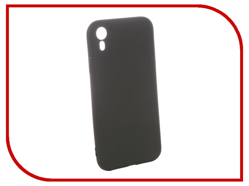 Аксессуар Чехол для APPLE iPhone XR Pero Black PRSTC-IXRB gissar twill чехол для apple iphone 5c black