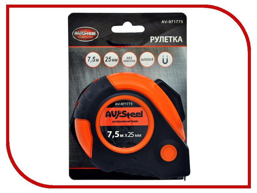 Рулетка AV Steel 7.5m x 25mm AV-971775 25mm x 25mm brushless cooling fan for esc motor black