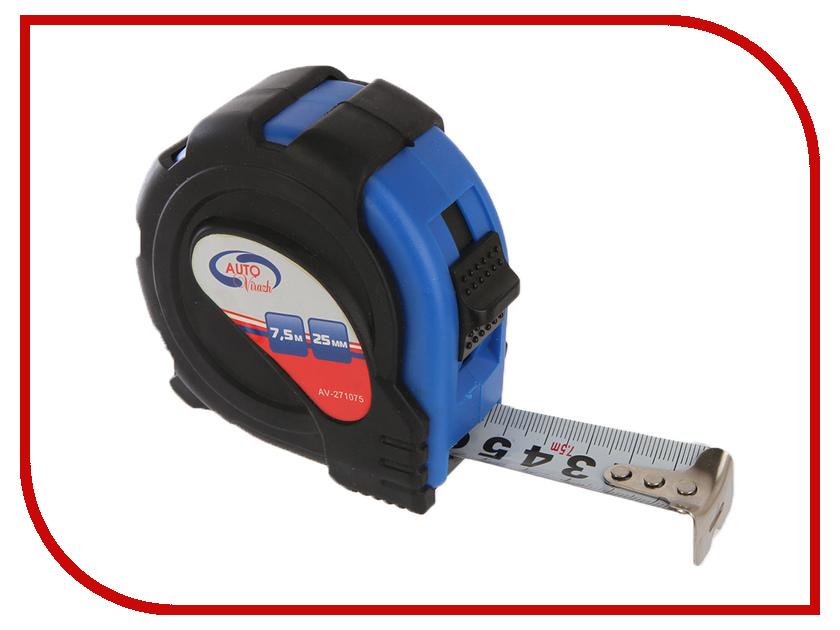 Рулетка Autovirazh 7,5m x 25mm AV-271075 25mm x 25mm brushless cooling fan for esc motor black