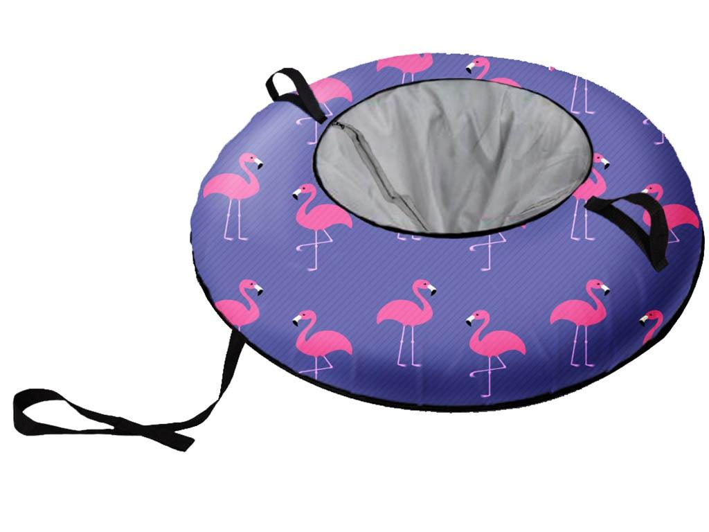 Тюбинг Fani Sani Розовый Фламинго 80cm 80931