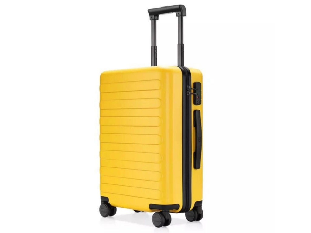 Чемодан Xiaomi RunMi 90 Fun Seven Bar Business Suitcase 20 Yellow