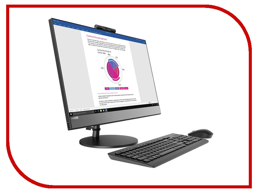Моноблок Lenovo V530-24ICB Black 10UW000FRU (Intel Core i5-8400T 1.7 GHz/8192Mb/1000Gb/DVD-RW/Intel HD Graphics/Wi-Fi/Bluetooth/Cam/23.8/1920x1080/Windows 10 Pro 64-bit) моноблок hp 200 g3 3va58ea intel core i5 8250u 1 6 ghz 8192mb 1000gb 128gb ssd dvd rw intel hd graphics 21 5 1920x1080 windows 10 64 bit
