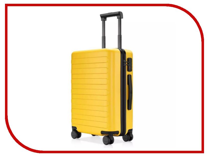 Чемодан Xiaomi RunMi 90 Fun Seven Bar Business Suitcase 24 Yellow