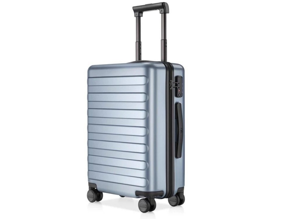 цена Чемодан Xiaomi RunMi 90 Fun Seven Bar Business Suitcase 28 Light Blue онлайн в 2017 году