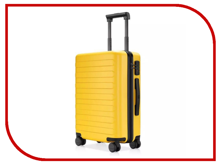 Чемодан Xiaomi RunMi 90 Fun Seven Bar Business Suitcase 28 Yellow