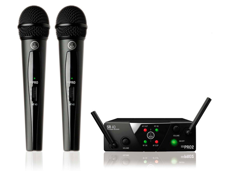 Радиосистема AKG WMS40 Mini 2 Vocal Set US25A/C